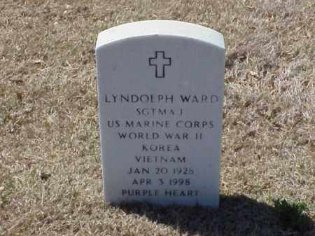 WARD (VETERAN 3 WARS), LYNDOLPH - Pulaski County, Arkansas | LYNDOLPH WARD (VETERAN 3 WARS) - Arkansas Gravestone Photos