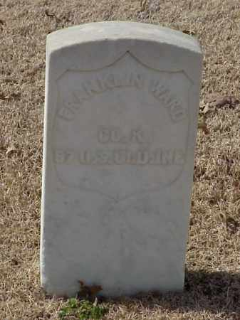 WARD (VETERAN UNION), FRANKLIN - Pulaski County, Arkansas | FRANKLIN WARD (VETERAN UNION) - Arkansas Gravestone Photos