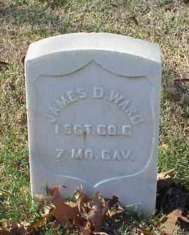 WARD (VETERAN UNION), JAMES D - Pulaski County, Arkansas   JAMES D WARD (VETERAN UNION) - Arkansas Gravestone Photos