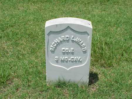 WARD (VETERAN UNION), RICHARD L - Pulaski County, Arkansas   RICHARD L WARD (VETERAN UNION) - Arkansas Gravestone Photos