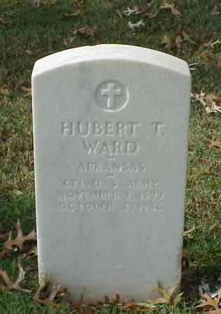 WARD (VETERAN WWII), HUBERT T - Pulaski County, Arkansas   HUBERT T WARD (VETERAN WWII) - Arkansas Gravestone Photos