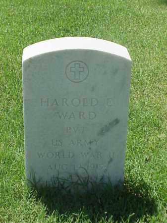 WARD (VETERAN WWII), HAROLD E - Pulaski County, Arkansas | HAROLD E WARD (VETERAN WWII) - Arkansas Gravestone Photos