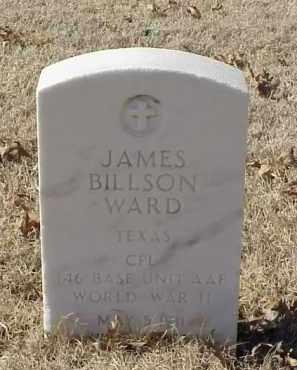 WARD (VETERAN WWII), JAMES BILLSON - Pulaski County, Arkansas | JAMES BILLSON WARD (VETERAN WWII) - Arkansas Gravestone Photos