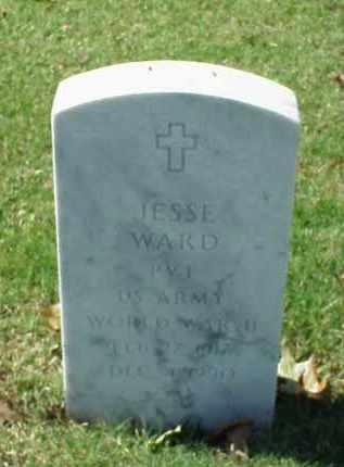 WARD (VETERAN WWII), JESSE - Pulaski County, Arkansas   JESSE WARD (VETERAN WWII) - Arkansas Gravestone Photos