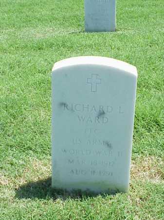 WARD (VETERAN WWII), RICHARD L - Pulaski County, Arkansas | RICHARD L WARD (VETERAN WWII) - Arkansas Gravestone Photos
