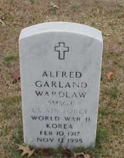 WARDLAW (VETERAN 2 WARS), ALFRED GARLAND - Pulaski County, Arkansas | ALFRED GARLAND WARDLAW (VETERAN 2 WARS) - Arkansas Gravestone Photos