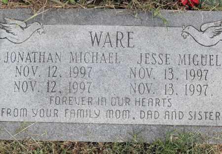 WARE, JESSE MIGUEL - Pulaski County, Arkansas | JESSE MIGUEL WARE - Arkansas Gravestone Photos