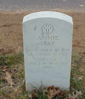 WARNER, ANNIE MAY - Pulaski County, Arkansas | ANNIE MAY WARNER - Arkansas Gravestone Photos