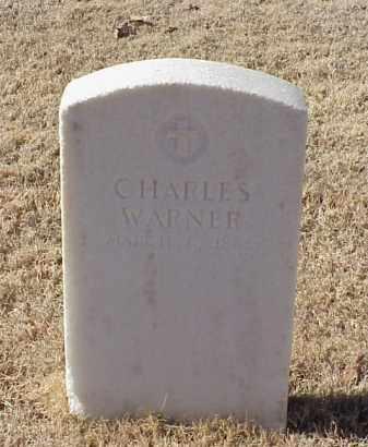 WARNER (VETERAN UNION), CHARLES - Pulaski County, Arkansas   CHARLES WARNER (VETERAN UNION) - Arkansas Gravestone Photos