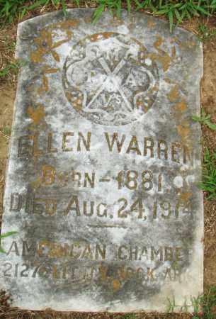 WARREN, ELLEN - Pulaski County, Arkansas | ELLEN WARREN - Arkansas Gravestone Photos