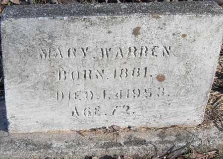 WARREN, MARY - Pulaski County, Arkansas   MARY WARREN - Arkansas Gravestone Photos