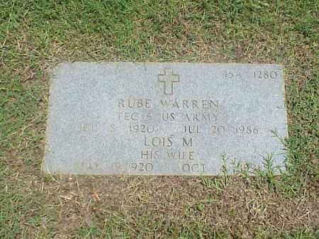 WARREN, LOIS M - Pulaski County, Arkansas | LOIS M WARREN - Arkansas Gravestone Photos