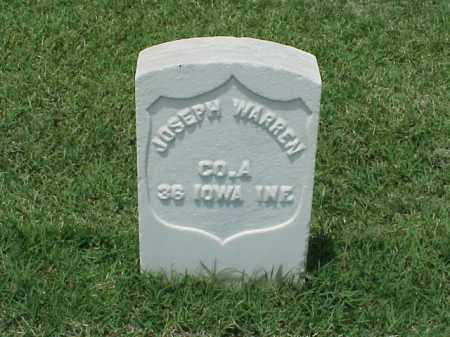 WARREN (VETERAN UNION), JOSEPH - Pulaski County, Arkansas | JOSEPH WARREN (VETERAN UNION) - Arkansas Gravestone Photos