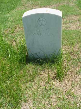 WARREN (VETERAN WWII), IRA C - Pulaski County, Arkansas | IRA C WARREN (VETERAN WWII) - Arkansas Gravestone Photos
