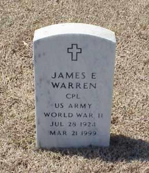 WARREN (VETERAN WWII), JAMES E - Pulaski County, Arkansas | JAMES E WARREN (VETERAN WWII) - Arkansas Gravestone Photos