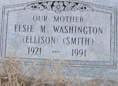 ELLISON SMITH WASHINGTON, ELSIE M - Pulaski County, Arkansas | ELSIE M ELLISON SMITH WASHINGTON - Arkansas Gravestone Photos