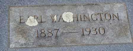 WASHINGTON, EARL - Pulaski County, Arkansas | EARL WASHINGTON - Arkansas Gravestone Photos