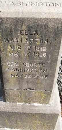 WASHINGTON, GEN GEORGE - Pulaski County, Arkansas | GEN GEORGE WASHINGTON - Arkansas Gravestone Photos