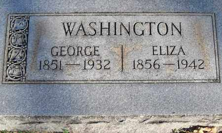 WASHINGTON, GEORGE - Pulaski County, Arkansas | GEORGE WASHINGTON - Arkansas Gravestone Photos