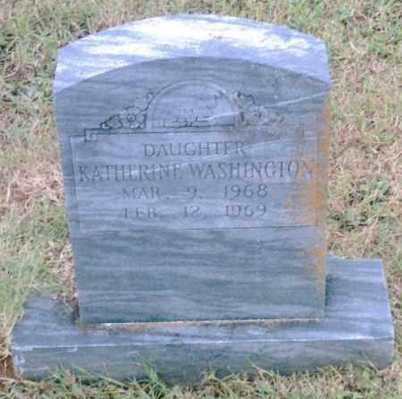 WASHINGTON, KATHERINE - Pulaski County, Arkansas | KATHERINE WASHINGTON - Arkansas Gravestone Photos