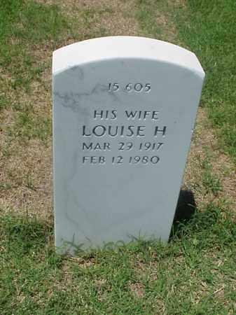 WASHINGTON, LOUISE H - Pulaski County, Arkansas | LOUISE H WASHINGTON - Arkansas Gravestone Photos