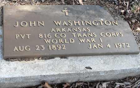 WASHINGTON (VETERAN WWI), JOHN - Pulaski County, Arkansas | JOHN WASHINGTON (VETERAN WWI) - Arkansas Gravestone Photos