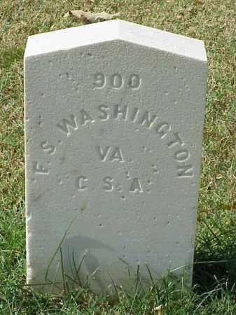 WASHINGTON (VETERAN CSA), F S - Pulaski County, Arkansas | F S WASHINGTON (VETERAN CSA) - Arkansas Gravestone Photos