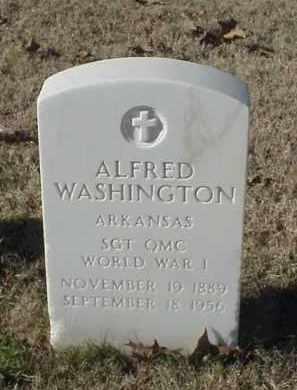 WASHINGTON (VETERAN WWI), ALFRED - Pulaski County, Arkansas | ALFRED WASHINGTON (VETERAN WWI) - Arkansas Gravestone Photos