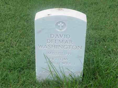 WASHINGTON (VETERAN WWI), DAVID DELMAR - Pulaski County, Arkansas | DAVID DELMAR WASHINGTON (VETERAN WWI) - Arkansas Gravestone Photos