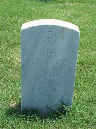 WASHINGTON (VETERAN WWI), WALTER - Pulaski County, Arkansas | WALTER WASHINGTON (VETERAN WWI) - Arkansas Gravestone Photos