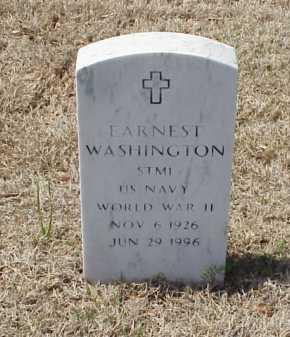 WASHINGTON (VETERAN WWII), EARNEST - Pulaski County, Arkansas | EARNEST WASHINGTON (VETERAN WWII) - Arkansas Gravestone Photos