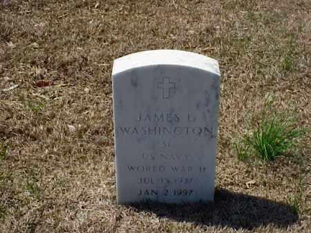 WASHINGTON (VETERAN WWII), JAMES L - Pulaski County, Arkansas | JAMES L WASHINGTON (VETERAN WWII) - Arkansas Gravestone Photos