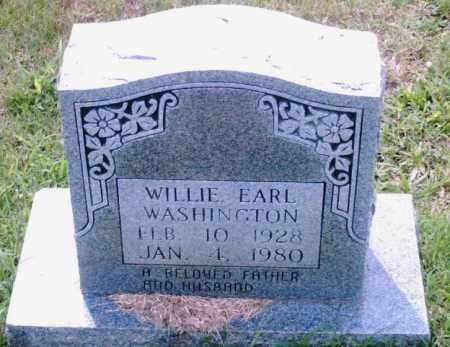 WASHINGTON, WILLIE EARL - Pulaski County, Arkansas | WILLIE EARL WASHINGTON - Arkansas Gravestone Photos