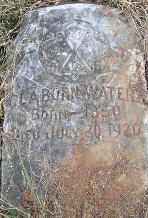 WATERS, CLAYBORN - Pulaski County, Arkansas   CLAYBORN WATERS - Arkansas Gravestone Photos