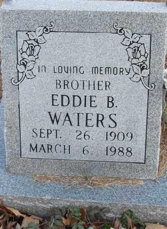 WATERS, EDDIE B - Pulaski County, Arkansas | EDDIE B WATERS - Arkansas Gravestone Photos