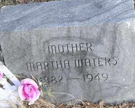 WATERS, MARTHA - Pulaski County, Arkansas | MARTHA WATERS - Arkansas Gravestone Photos