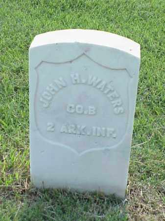 WATERS (VETERAN UNION), JOHN H - Pulaski County, Arkansas | JOHN H WATERS (VETERAN UNION) - Arkansas Gravestone Photos