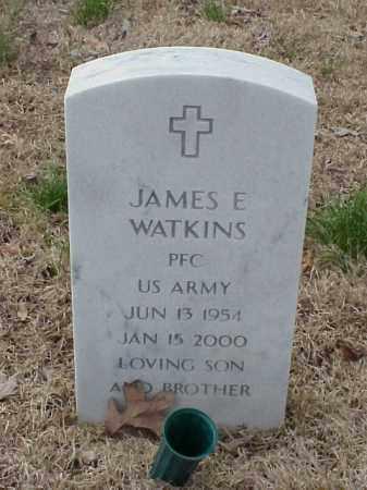 WATKINS  (VETERAN), JAMES E - Pulaski County, Arkansas | JAMES E WATKINS  (VETERAN) - Arkansas Gravestone Photos