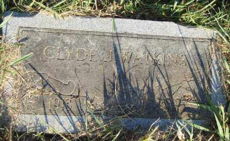 WATKINS, CLYDE J - Pulaski County, Arkansas | CLYDE J WATKINS - Arkansas Gravestone Photos