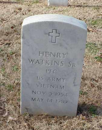 WATKINS, SR (VETERAN VIET), HENRY - Pulaski County, Arkansas | HENRY WATKINS, SR (VETERAN VIET) - Arkansas Gravestone Photos