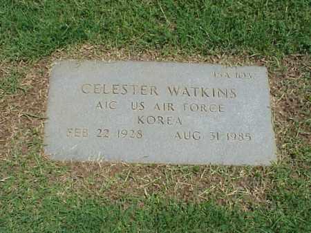 WATKINS (VETERAN KOR), CELESTER - Pulaski County, Arkansas | CELESTER WATKINS (VETERAN KOR) - Arkansas Gravestone Photos