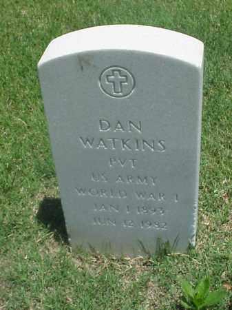 WATKINS (VETERAN WWI), DAN - Pulaski County, Arkansas | DAN WATKINS (VETERAN WWI) - Arkansas Gravestone Photos