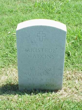 WATKINS (VETERAN WWII), ARISTEDE - Pulaski County, Arkansas | ARISTEDE WATKINS (VETERAN WWII) - Arkansas Gravestone Photos