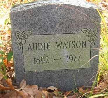 WATSON, AUDIE - Pulaski County, Arkansas | AUDIE WATSON - Arkansas Gravestone Photos