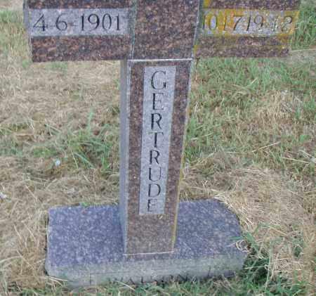 WATSON, GERTRUDE - Pulaski County, Arkansas | GERTRUDE WATSON - Arkansas Gravestone Photos