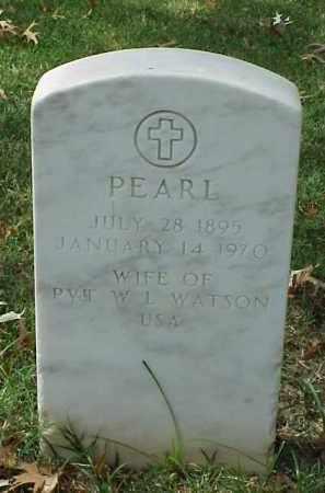 WATSON, PEARL - Pulaski County, Arkansas | PEARL WATSON - Arkansas Gravestone Photos