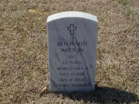 WATSON (VETERAN WWII), BENJAMIN - Pulaski County, Arkansas | BENJAMIN WATSON (VETERAN WWII) - Arkansas Gravestone Photos