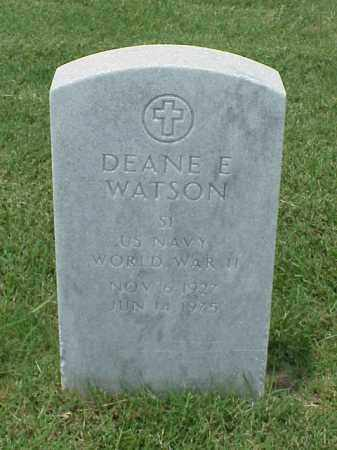 WATSON (VETERAN WWII), DEANE E - Pulaski County, Arkansas   DEANE E WATSON (VETERAN WWII) - Arkansas Gravestone Photos