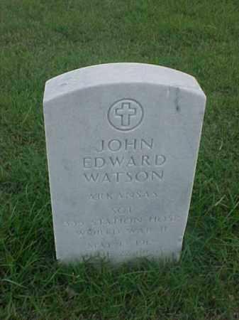 WATSON (VETERAN WWII), JOHN EDWARD - Pulaski County, Arkansas | JOHN EDWARD WATSON (VETERAN WWII) - Arkansas Gravestone Photos