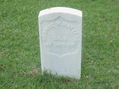 WATTERS (VETERAN UNION), GEORGE W - Pulaski County, Arkansas | GEORGE W WATTERS (VETERAN UNION) - Arkansas Gravestone Photos